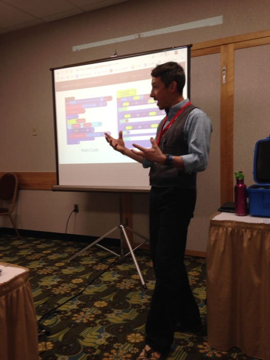 Presenting to other Computer and Technology Educators at ACTEM