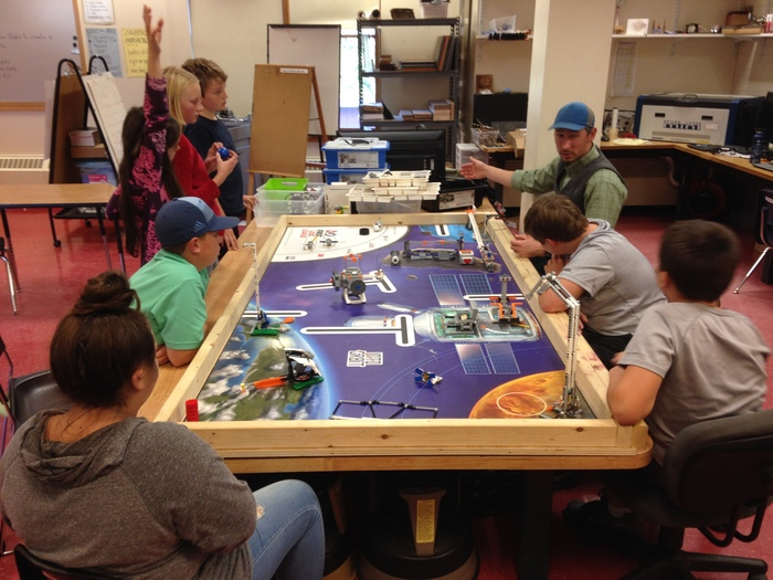 Lego Robotics Strategizing