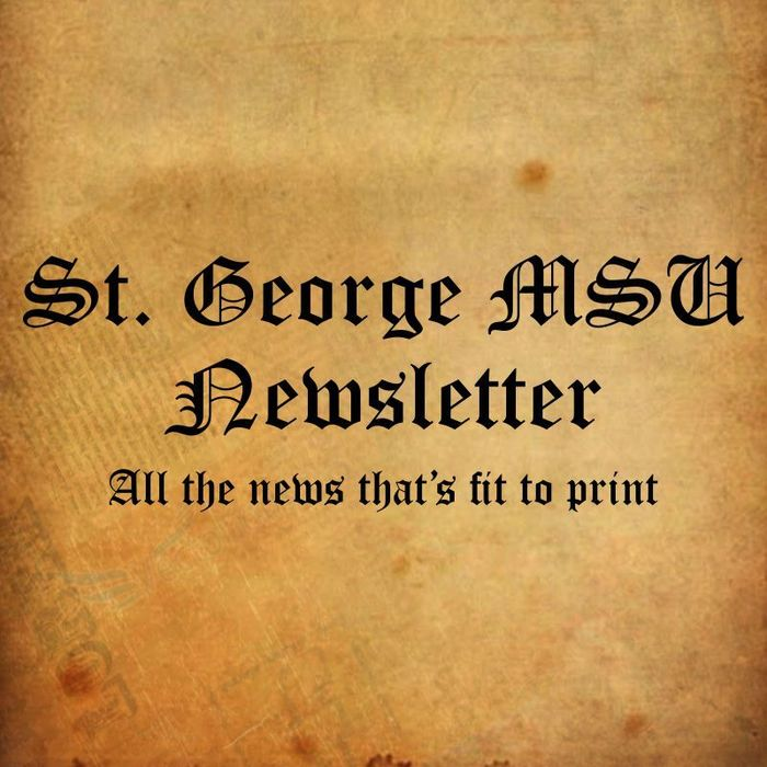 Old style newsletter graphic