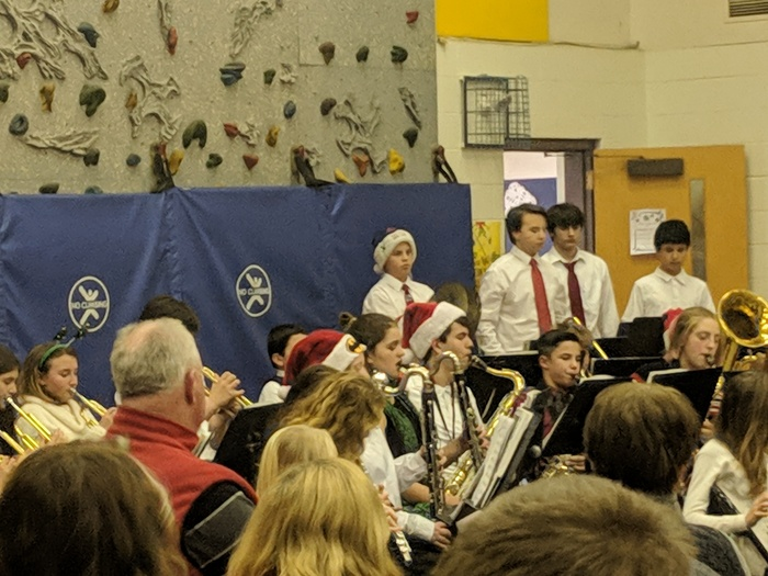 Middle Level Winter Concert - Band